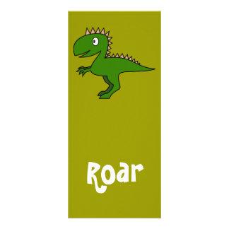 Cute Dinosaur Bookmark Rack Card