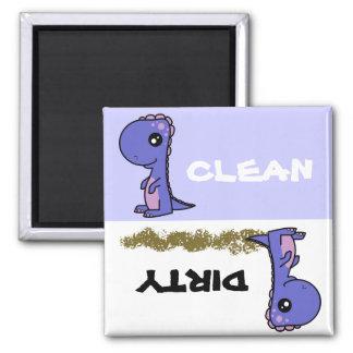 Cute Dinosaur Clean Dirty Dishwasher Magnet