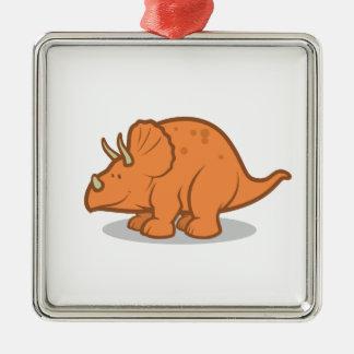 Cute Dinosaur for kids Metal Ornament