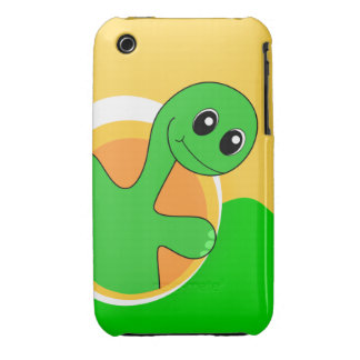 Cute Dinosaur iPhone Case - Dinosaur Sunrise iPhone 3 Case-Mate Case
