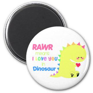 Cute Dinosaur Magnet RAWR