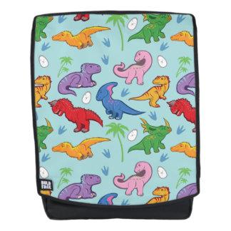 Cute Dinosaur Pattern Backpack