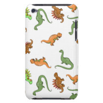 Cute Dinosaur Pattern Barely There iPod Cover