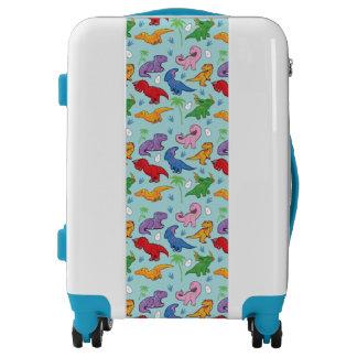 Cute Dinosaur Pattern Luggage
