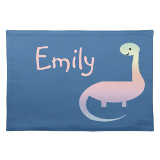 Cute Dinosaur Personalized Placemat