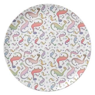 Cute Dinosaur Plate For Kids