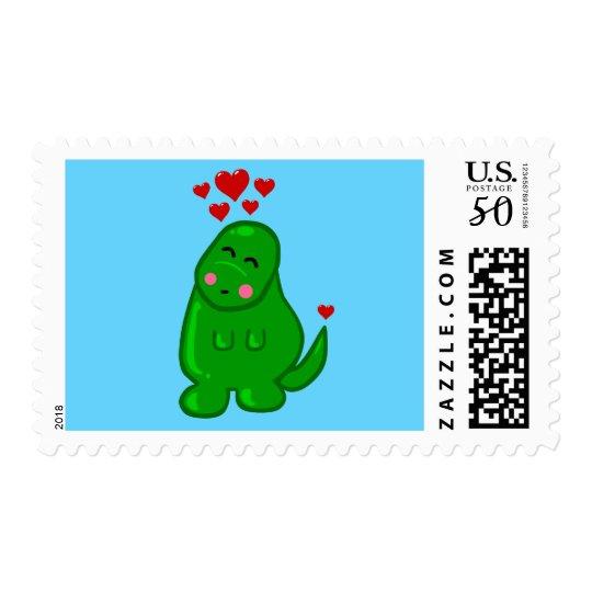 Cute Dinosaur Postage