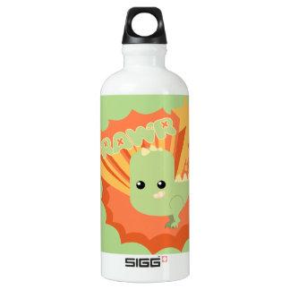 Cute Dinosaur Rawr Aluminum Water Bottle