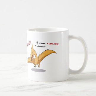 cute dinosaur rawr means I love you Coffee Mug