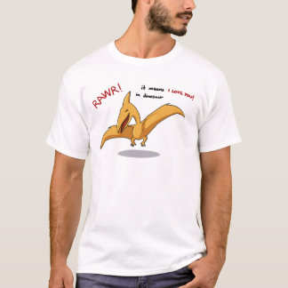 cute dinosaur rawr means I love you T-Shirt