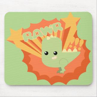 Cute Dinosaur Rawr Mouse Pad