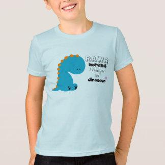cute dinosaur rawr shirt