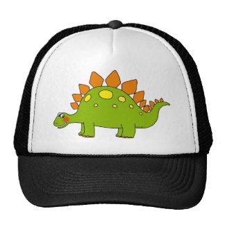Cute dinosaur - stegosaurus trucker hats