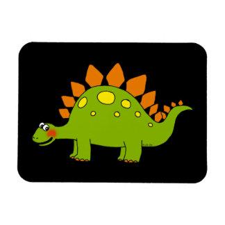 Cute dinosaur - stegosaurus magnet