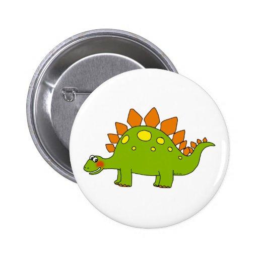 Cute dinosaur - stegosaurus pin