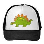 Cute dinosaur - stegosaurus trucker hat