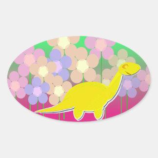 Cute Dinosaur Stickers