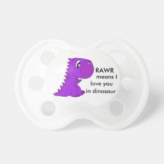 Cute Dinosaur T-Rex Dummy Pacifier