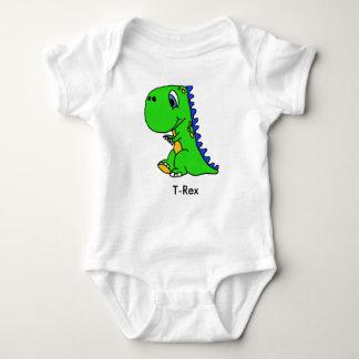 Cute Dinosaur T-Rex Kids Shirt