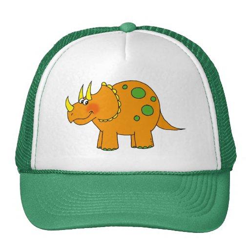 Cute dinosaur - triceratops trucker hat