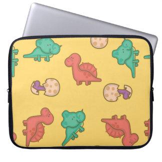 Cute Dinosaurs Laptop Sleeve