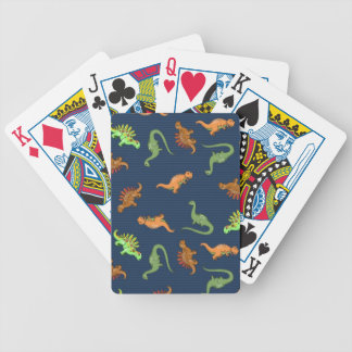 Cute Dinosaurs Pattern Bicycle Playing Cards