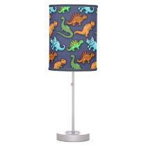 Cute Dinosaurs Pattern Desk Lamp