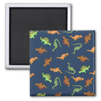 Cute Dinosaurs Pattern Magnet