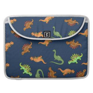 Cute Dinosaurs Pattern Sleeve For MacBook Pro