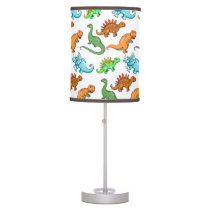 Cute Dinosaurs Pattern Table Lamp