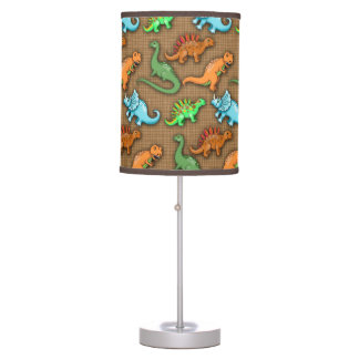 Cute Dinosaurs Pattern Table Lamps