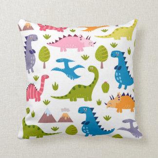 Cute Dinosaurs Pillow