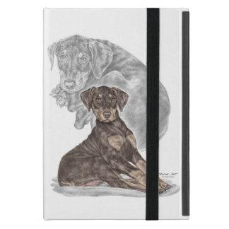 Cute Doberman Pinscher Puppy Cover For iPad Mini