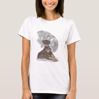 Cute Doberman Pinscher Puppy T-Shirt