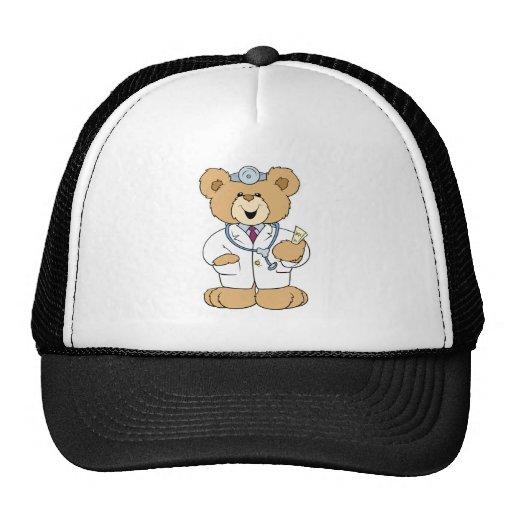 Cute Doctor Teddy Bear Mesh Hat