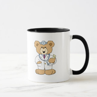 Cute Doctor Teddy Bear Mug