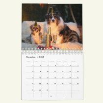 Cute Dog Calendar - Customise With Your Own Photos