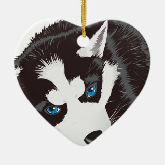 Cute Dog Ceramic Ornament