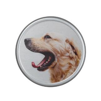 Cute Dog Close-Up bluetooth speaker