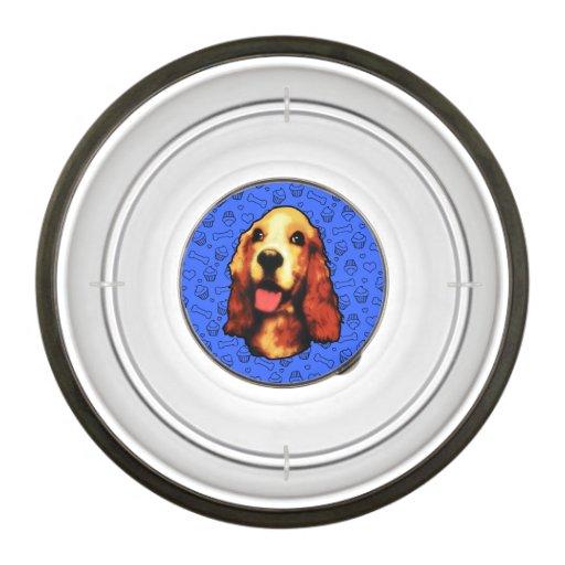 Cute Dog, Cupcakes, Bones and Love Hearts Pet Bowl