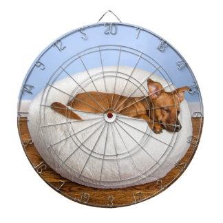Cute dog dartboard