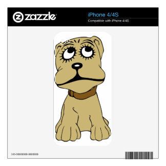 Cute Dog Decal For The iPhone 4S
