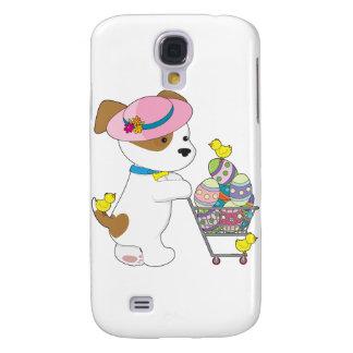 Cute Dog Easter Eggs Samsung Galaxy S4 Cover