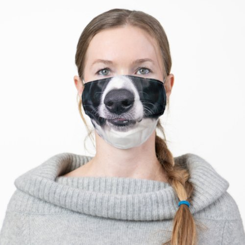 Cute Dog Face Nose For Kids Funny Animal Cloth Face Mask