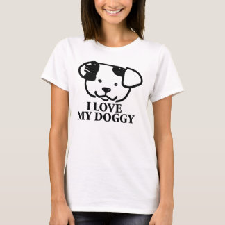 Cute Dog Face T-Shirt With Sayings