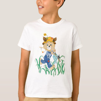 Cute Dog Going Fishing T-Shirt