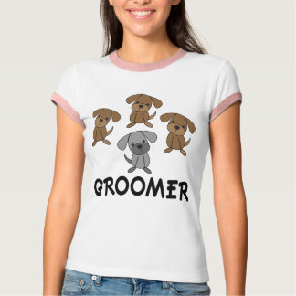 Cute Dog Groomer Occupation Gift Tshirts