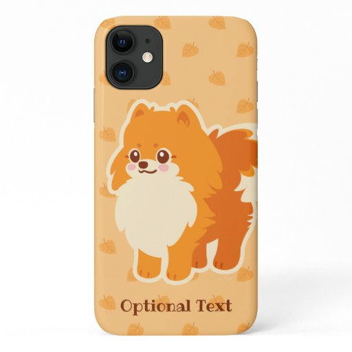 Cute Dog Kawaii Pomeranian iPhone 11 Case