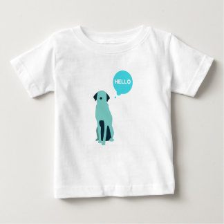 cute dog kiddies tshirt