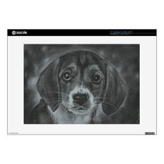 Cute dog laptop decal